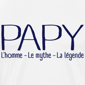 Papy Légende Tee shirts - T-shirt Premium Homme
