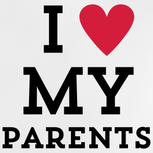 I love my Parents Herz Baby T-Shirts - Baby T-Shirt