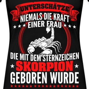 Skorpion Frau - T Shirt  - Frauen Premium T-Shirt