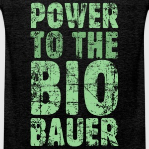 Power to the Biobauer (Vintage/Hellgrün) Tank Top - Männer Premium Tank Top