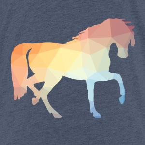Coloured horse - Teenage Premium T-Shirt
