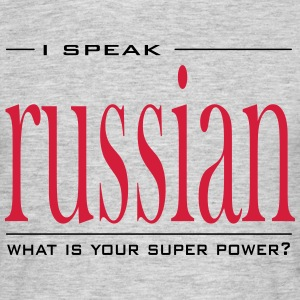 Super Power Russian - Men's T-Shirt