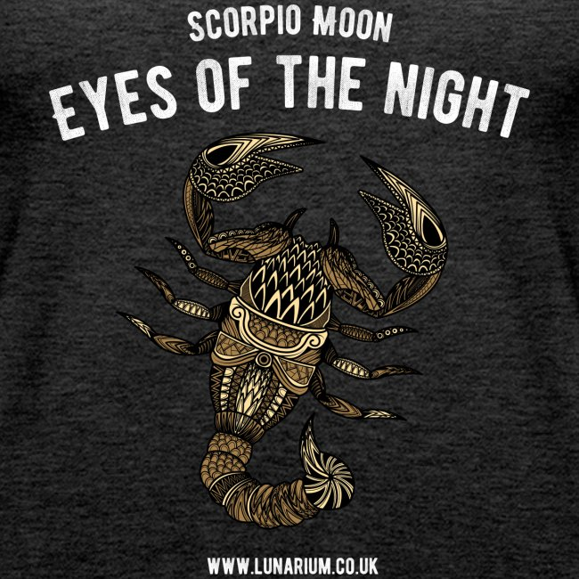 Scorpio Moon Women's Premium Tank Top