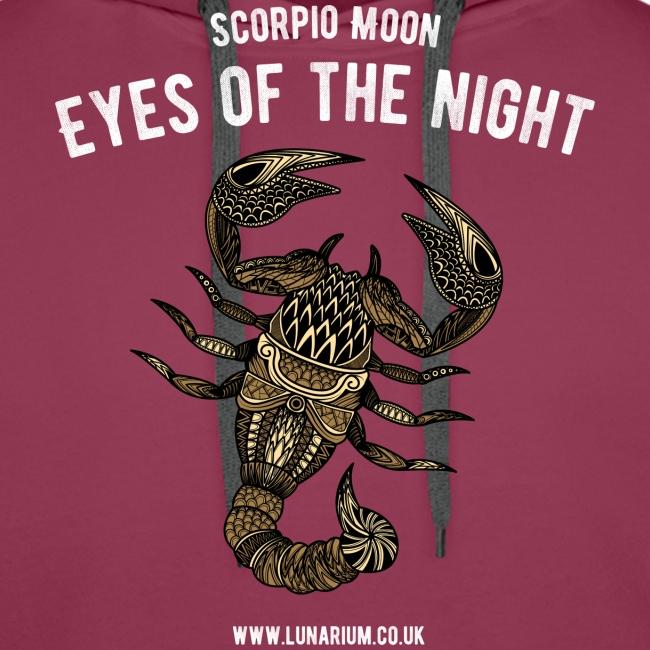 Scorpio Moon Men's Premium Hoodie