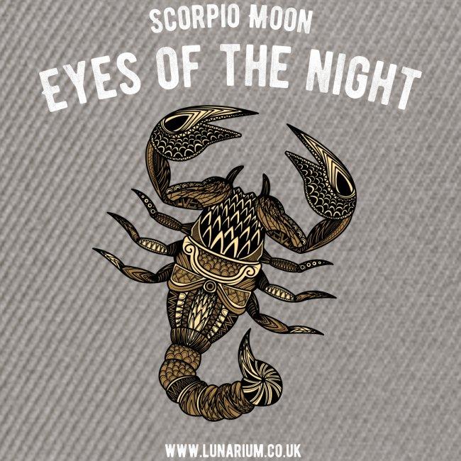 Scorpio Moon Snapback Cap