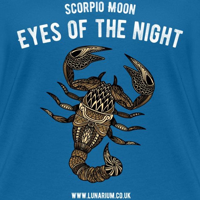 Scorpio Moon Women's V-Neck T-Shirt