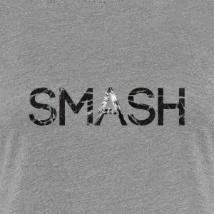 smash screen crack glass T-Shirts - Women's Premium T-Shirt