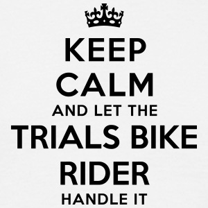 keep calm let trials bike rider handle i - T-shirt Homme