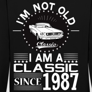 Classic since 1987 Hoodies & Sweatshirts - Contrast Colour Hoodie