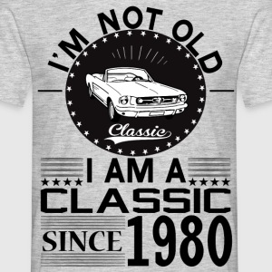 Classic since 1980 T-Shirts - Men's T-Shirt
