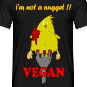 i'm not a nugget! vegan - T-shirt Homme