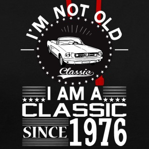 Classic since 1976 Hoodies & Sweatshirts - Contrast Colour Hoodie