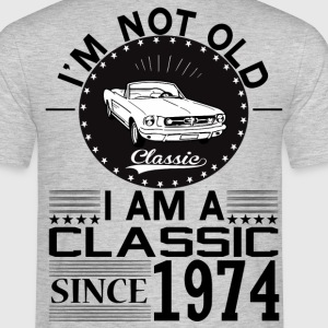 Classic since 1974 T-Shirts - Men's T-Shirt