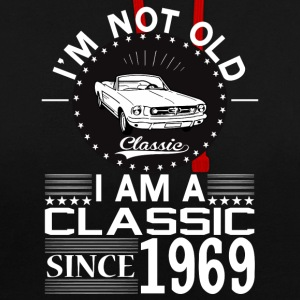 Classic since 1969 Hoodies & Sweatshirts - Contrast Colour Hoodie