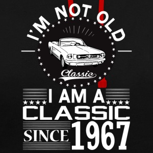 Classic since 1967 Hoodies & Sweatshirts - Contrast Colour Hoodie