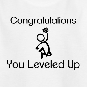 Gaming Level Up Shirts - Kids' T-Shirt