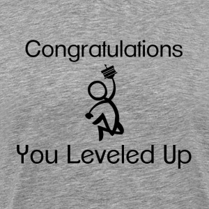 Gaming Level Up T-Shirts - Men's Premium T-Shirt
