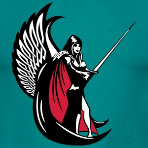 Gothic Girl Wings Dark Angel sexy T-Shirts - Men's T-Shirt