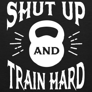 Shut Up And Train Hard Vêtements de sport - Débardeur Premium Homme
