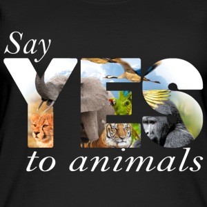 Say yes to animals Tops - Frauen Bio Tank Top