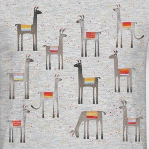 Llots of llovely llamas - Men's T-Shirt