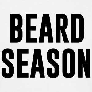 Beard Season  T-shirts - T-shirt herr