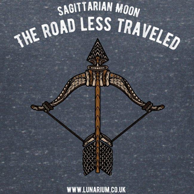 Sagittarius Moon Women's V-Neck T-Shirt