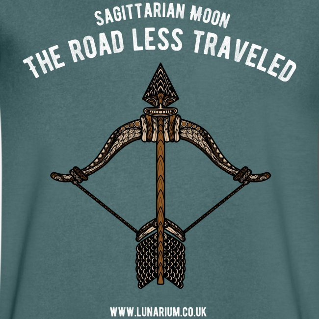 Sagittarius Moon Men's V-Neck T-Shirt