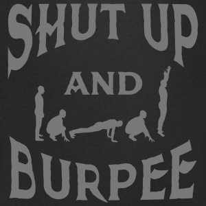 Shut Up And Burpee T-shirts - T-shirt med v-ringning herr
