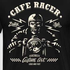 CafeRacer - Loud and Fast T-Shirts - Männer Premium T-Shirt
