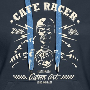 CafeRacer - Loud and Fast - Women's Premium Hoodie