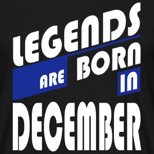 legends December T-shirts - T-shirt herr