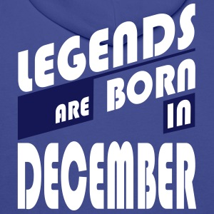 Legends December Hoodies & Sweatshirts - Men's Premium Hoodie