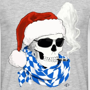 skull_Bayer_XMAS T-Shirts - Men's T-Shirt