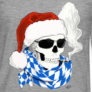 skull_XMAS Manches longues - T-shirt manches longues Premium Homme