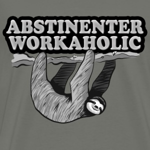 Workaholic T-Shirts - Men's Premium T-Shirt