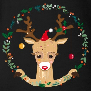 Cute reindeer Baby Bodysuits - Organic Short-sleeved Baby Bodysuit