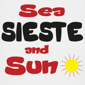 Sea sieste and sun Tee shirts - T-shirt Premium Ado