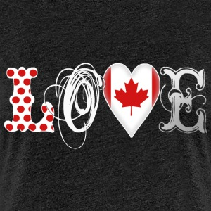 Love Canada White - Frauen Premium T-Shirt