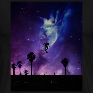 Skate to Space - Premium-T-shirt herr