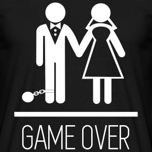 Game over - Stag do - Hen party - Funny T-shirts - Herre-T-shirt