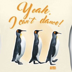 Animal Planet Cute King Penguin Can't Dance - Women's V-Neck T-Shirt