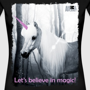 Animal Planet Humour Slogan I'm A Unicorn - Women's Premium T-Shirt