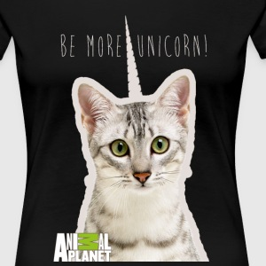 Animal Planet Humour Pets Cats Cute Unicorn - Women's Premium T-Shirt