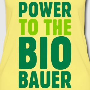 Power to the Biobauer Bio Tank Top - Frauen Bio Tank Top