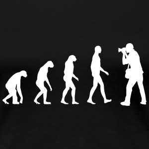 Fotograf Evolution T-Shirts - Frauen Premium T-Shirt