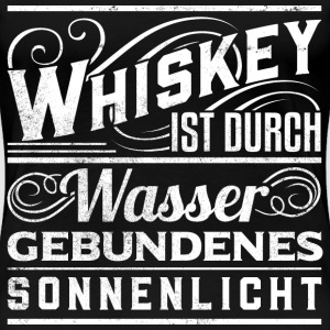Whiskey- T Shirt Frauen  - Frauen Premium T-Shirt