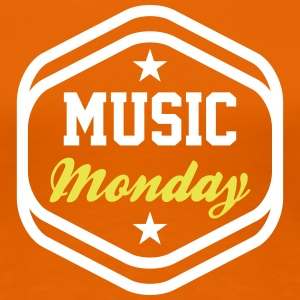 #MusicMonday T-Shirts - Frauen Premium T-Shirt