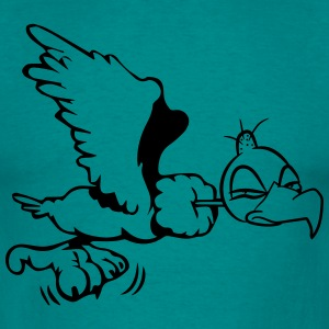 Vulture funny fly T-Shirts - Men's T-Shirt