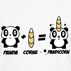 PANDICORN  Tee shirts - T-shirt contraste Homme